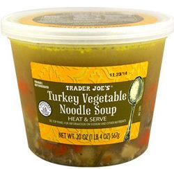Trader Joe's Turkey Vegetable Noodle Soup