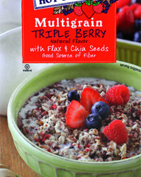 Trader Joe's Multigrain Triple Berry Hot Cereal with Flax & Chia Seeds