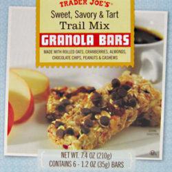 Trader Joe's Sweet, Savory & Tart Trail Mix Bars