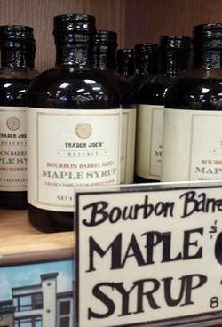 Trader Joe's Bourbon Barrel Aged Maple Syrup