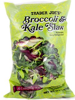 Trader Joe's Broccoli & Kale Slaw