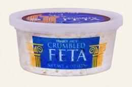 Trader Joe's Crumbled Feta Cheese