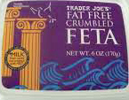 Trader Joe's Fat-Free Crumbled Feta