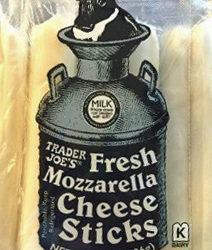 Trader Joe's Fresh Mozzarella Cheese Sticks