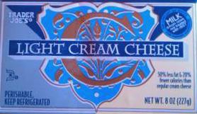 Trader Joe's Light Cream Cheese Brick