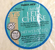 Trader Joe's Light Feta Cheese