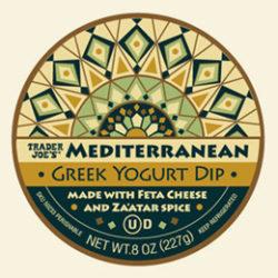 Trader Joe's Mediterranean Greek Yogurt Dip