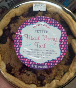 Trader Joe's Mixed Berry Tart