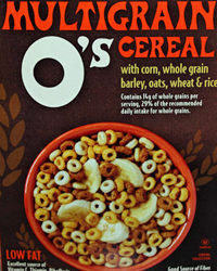 Trader Joe's O's Multigrain Cereal