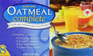 Trader Joe's Oatmeal Complete