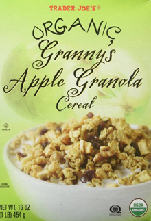 Trader Joe's Organic Granny's Apple Granola