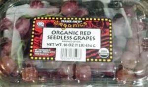 Trader Joe's Organic Red Seedless Grapes