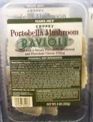 Trader Joe's Portobella Mushroom Ravioli