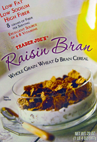 Trader Joe's Raisin Bran