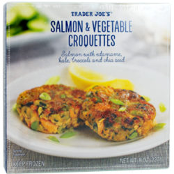 Trader Joe's Salmon & Vegetable Croquettes