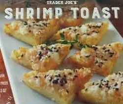 Trader Joe's Shrimp Toast