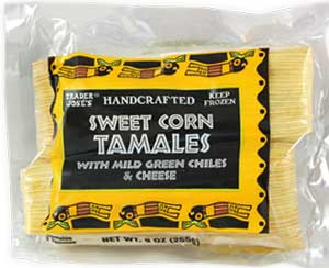 Trader Joe's Sweet Corn Tamales with Mild Green Chiles & Cheese Reviews