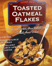 Trader Joe's Toasted Oatmeal Flakes