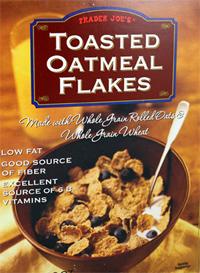 Trader Joe's Toasted Oatmeal Flakes