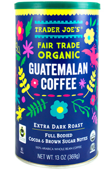 Trader Joe's Fair Trade Organic Guatemalan Coffee