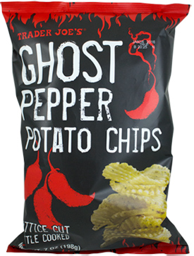 Trader Joe's Ghost Pepper Potato Chips Reviews