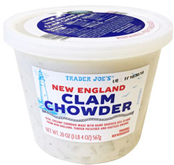 Trader Joe's New England Clam Chowder