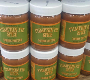 Trader Joe's Pumpkin Pie Spice Cookie Butter