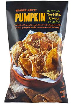 Trader Joe's Pumpkin Tortilla Chips