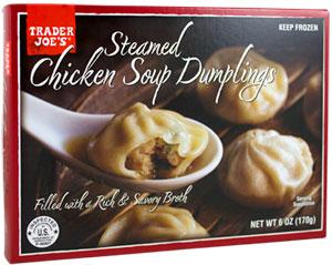 Trader Joe's Steamed Chicken Soup Dumplings