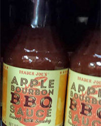 Trader Joe's Apple Bourbon BBQ Sauce