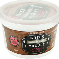 Trader Joe's Chocolate Mousse Whole Milk Greek Yogurt