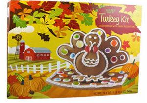 Trader Joe's Gingerbread Turkey Kit