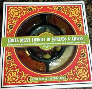 Trader Joe's Greek Mezze Quintet of Spreads & Olives