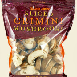 Trader Joe's Sliced Crimini Mushrooms