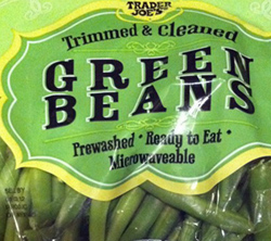Trader Joe's Trimmed & Cleaned Green Beans