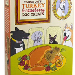 Trader Joe's Turkey & Cranberry Dog Treats