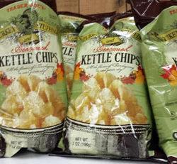 Trader Joe's Turkey Stuffing Seasonal Kettle Chips