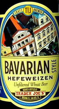 Trader Joe's Bavarian Style Hefeweizen Beer