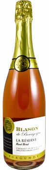 Trader Joe's Blason de Bourgogne Rose Cremant Wine