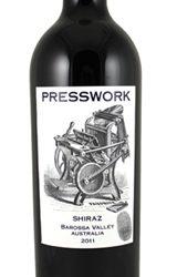 Presswork Barossa Valley Shiraz Wine