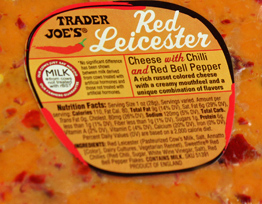 Trader Joe's Red Leicester Cheese