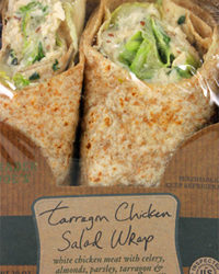 Trader Joe's Tarragon Chicken Salad Wrap