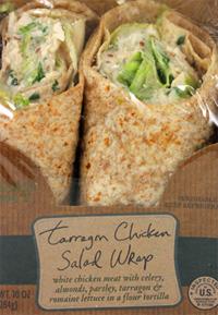 Trader Joe's Tarragon Chicken Salad Wrap