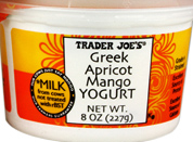 Trader Joe's Apricot Mango Greek Yogurt