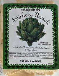 Trader Joe's Artichoke Ravioli Reviews