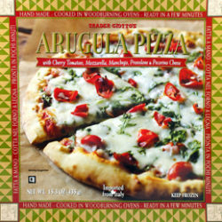 Trader Joe's Arugula Pizza