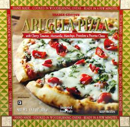 Trader Joe's Arugula Pizza