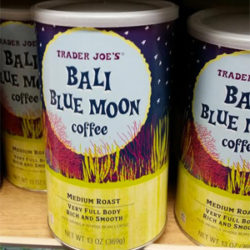 Trader Joe's Bali Blue Moon Coffee