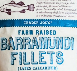 Trader Joe's Farm Raised Barramundi Fillets