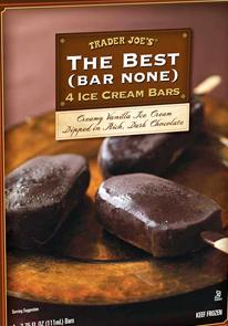 Trader Joe's The Best (Bar None) Chocolate Ice Cream Bars